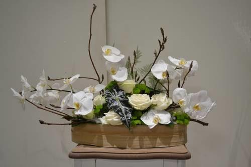rose orchidée santini