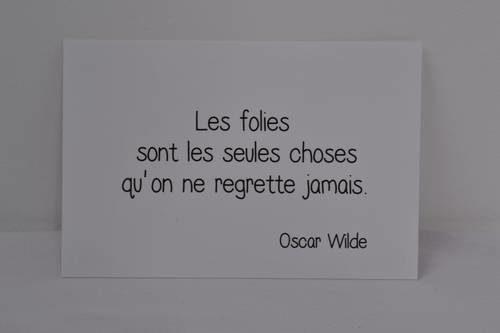 texte d'Oscar Wild